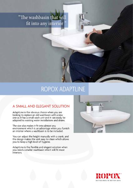 Ropox AdaptLine washbasin