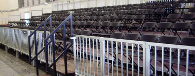 EXEC Demountable Staging For Spectator Seating