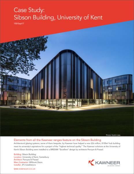 Sibson Building, University of Kent, Canterbury