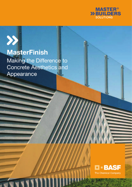 MasterFinish - Making the Difference to Concrete Aesthetics and Appearance