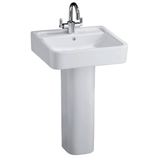 White Cube 50cm Washbasin