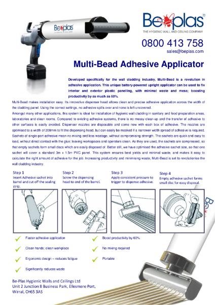 Beplas Multibead Adhesive