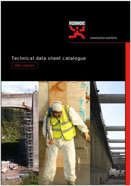 Technical data sheet catalogue