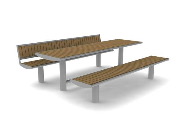 Horizon Picnic Benches and Table
