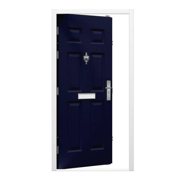 6 Panel Security Front Door