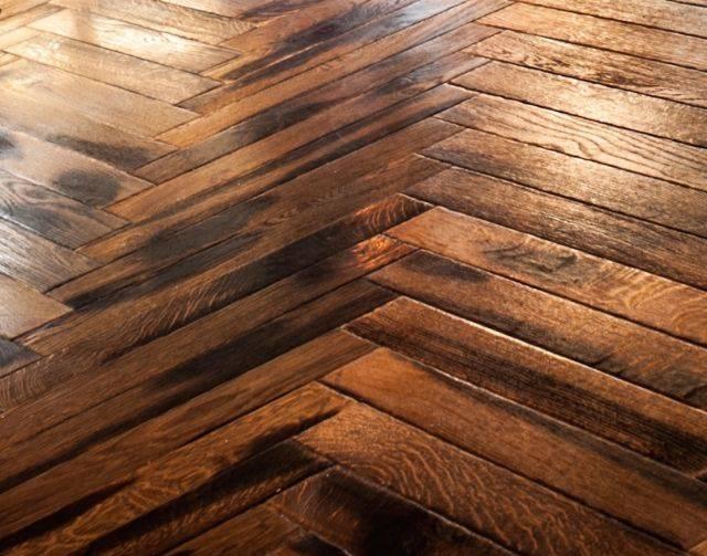 20 mm Antique Oiled Oak Parquet Blocks
