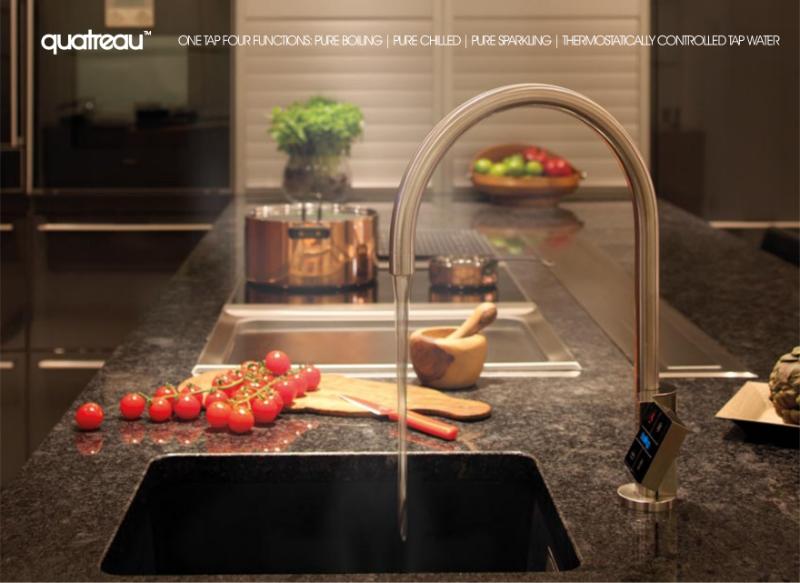 Quatreau boiling water tap