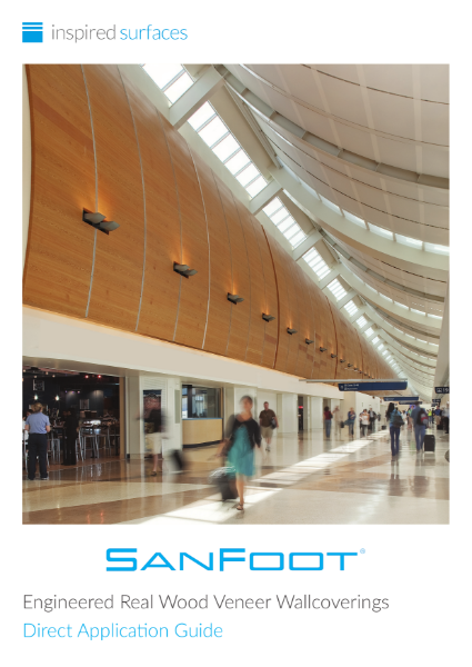 SanFoot® Real Wood Veneer Direct Application Guide