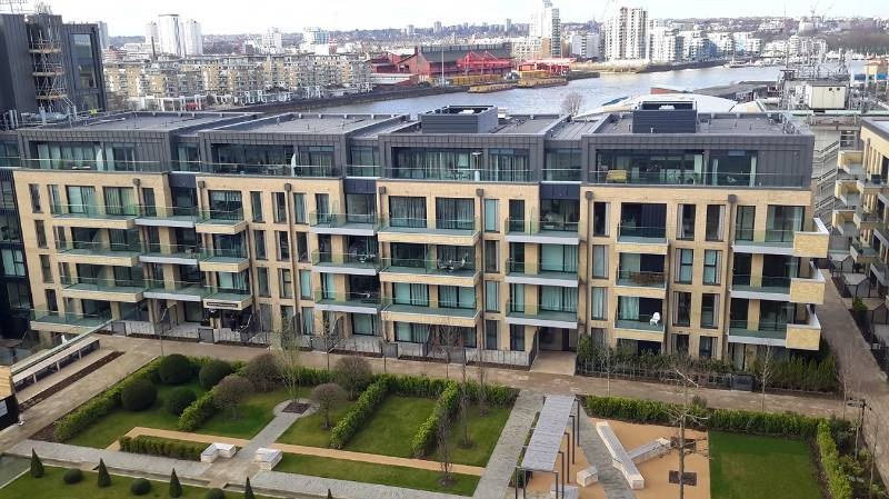 Axter waterproofing at Fulham Wharf