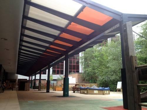 Prior Weston Primary School - Free Standing Canopy