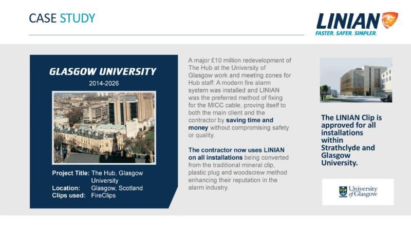 LINIAN Case Study - Glasgow University