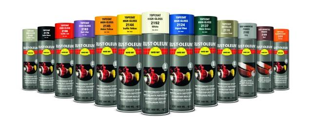 Hard Hat Aerosols Topcoat 2100