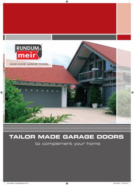 Rundum Meir Garage Door Brochure