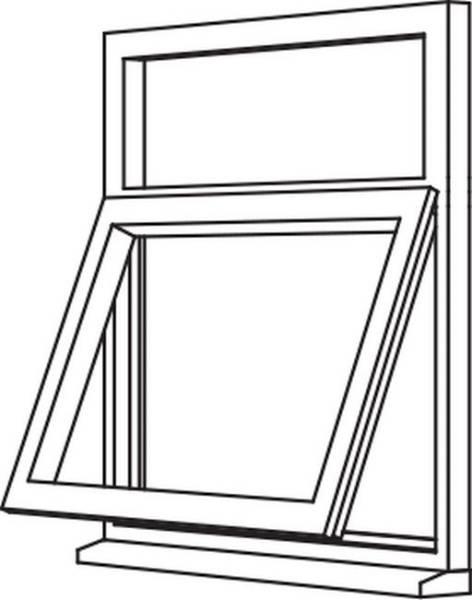Traditional 2500 Casement - C6 Opener/Fixed