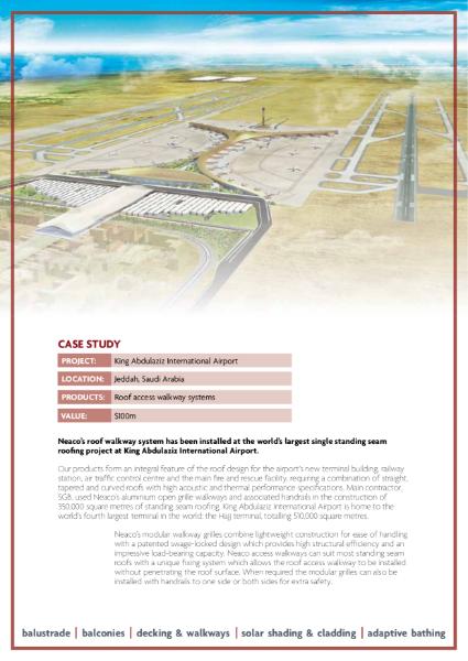 Case Study - King Abdulaziz International Airport, Saudi Arabia