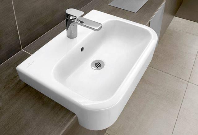 MEMENTO Semi-Recessed Washbasin
