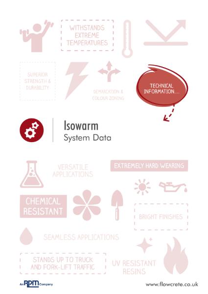 Isowarm Product Data