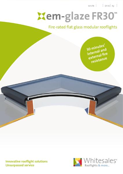 em.glaze FR30 Fire Rated Rooflight