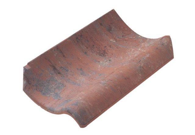 Old Hollow Clay Pantile