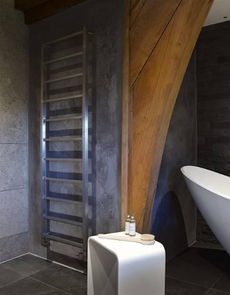 Brunswick Stainless Steel Heated Towel Rail