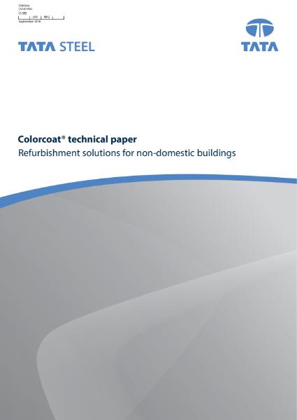 Refurbishment solutions for non-domestic solutions