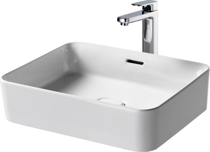 Fusaro Vessel Basin 50X40 White OF NTH Rect