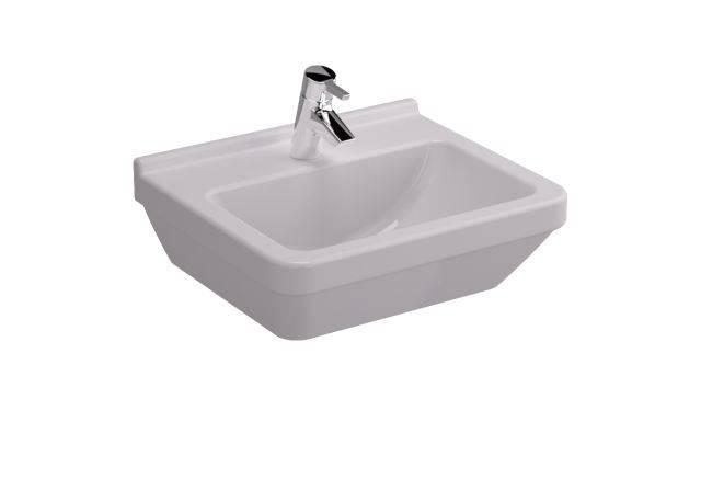 VitrA S50 Washbasin, 50 cm, Square, 5460