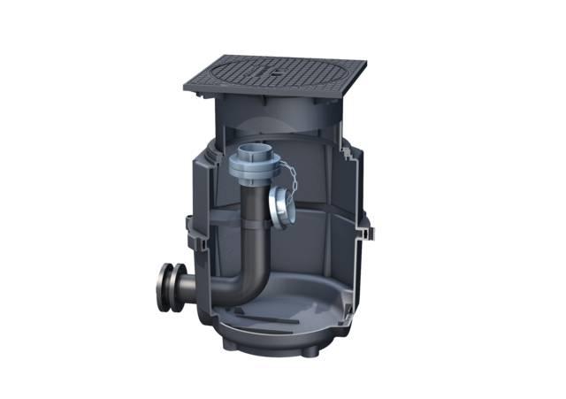 KESSEL Disposal chamber Ø 400