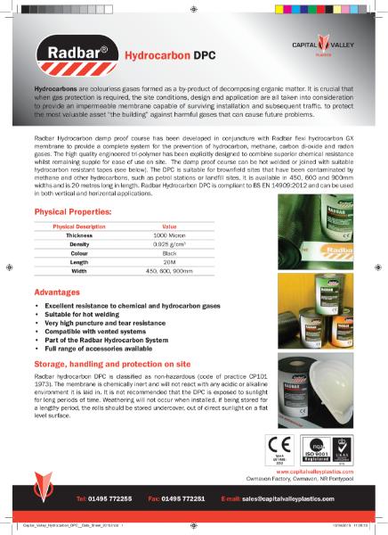 Radbar Hydrocarbon DPC