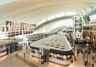 Tom Bradley International Terminal at LAX -Stunning AV Technology Takes Passengers to New Heights