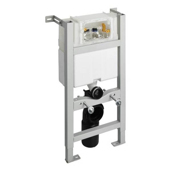 In-wall System for WC 820mm, Pneumatic Top Or Front Flushplate
