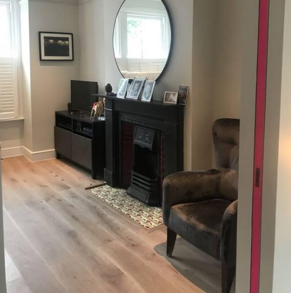 Oak Engineered Wood Flooring, Brushed Grey, UV Oiled