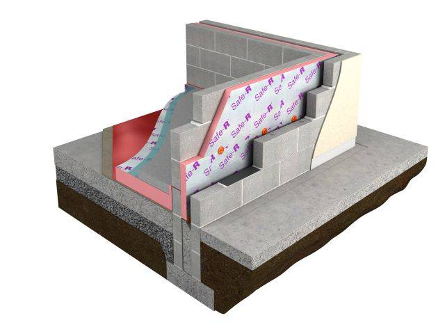 Safe-R SR/CW Partial Fill Cavity Wall Insulation