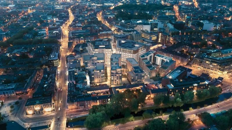 Ermetika supplies the Charlemont square development in Dublin