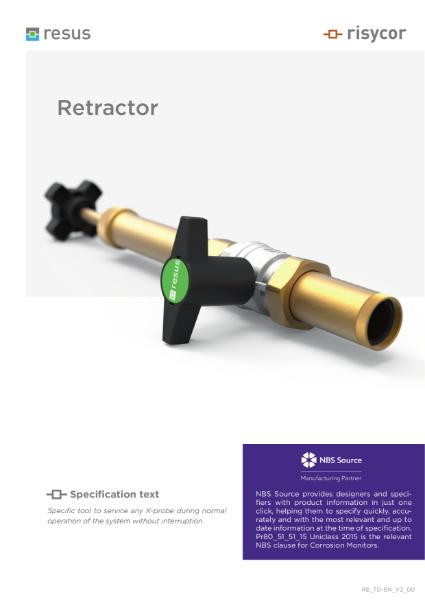 Retractor Technical Datasheet EN V2 00