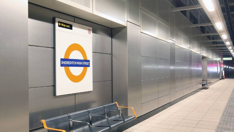 East London Line Stations, London