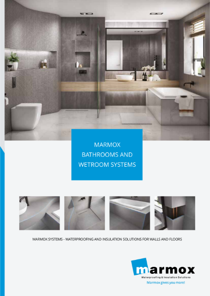 Marmox Bathrooms & Wetroom Systems Brochure