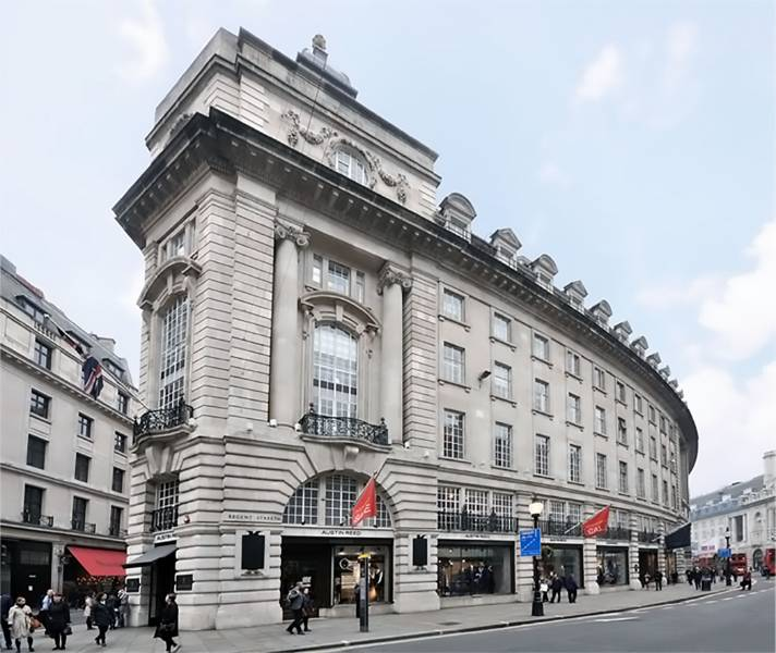 33 Glasshouse Street, London
