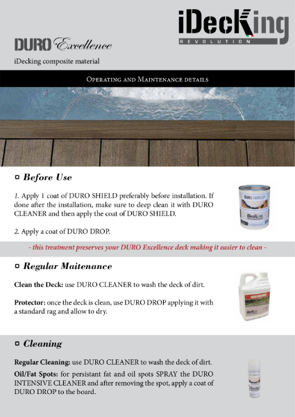 Decking - Oil and Maintenance