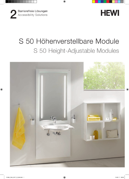 S 50 Height-Adjustable Modules