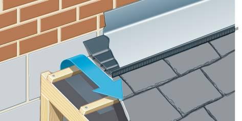 Top Edge Abutment Ventilation System