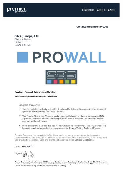 Approval for PG Certificate