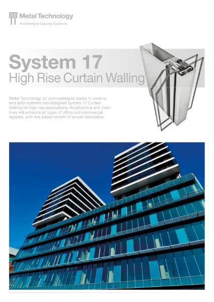 Aluminium High Rise Curtain Walling