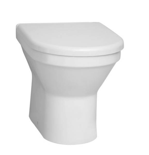 VitrA S50 Back To Wall WC Pan, 5323