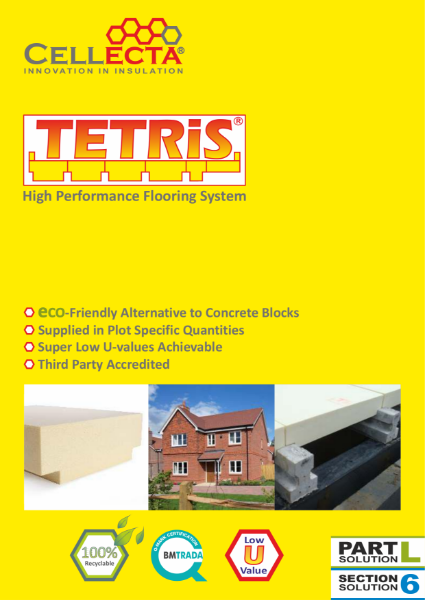 TETRiS Insulation Block and Beam System