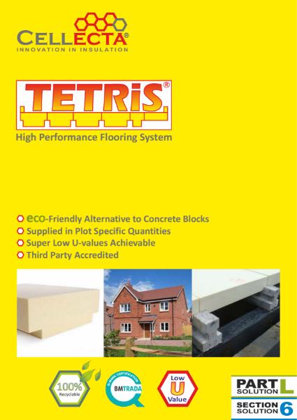 TETRiS Insulation Block and Beam System