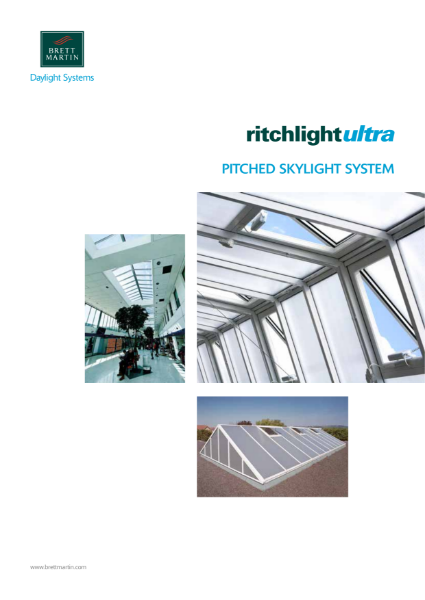 Architectural Thermally Broken Skylights - Ritchlight Ultra