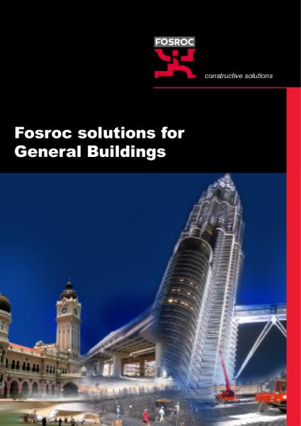 Fosroc Solutions for General Buildings