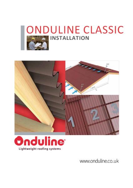 ONDULINE CLASSIC Sheet