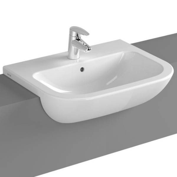 VitrA S20 Semi-recessed Basin, 55 cm, 5524